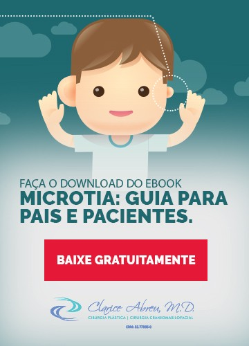 Faça o download do ebook Microtia: guia para pais e pacientes